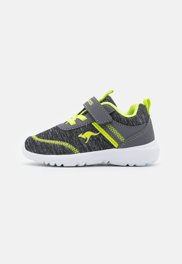 KY-CHUMMY  - Sneakers laag - steel grey/lime