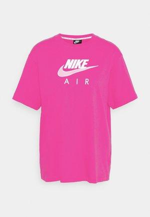 AIR  - Print T-shirt - fireberry/white