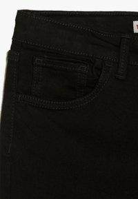 Levi's® - 710 SUPER SKINNY - Jeans Skinny Fit - rinsed black - 2
