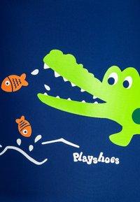 Playshoes - UV-SCHUTZ BADE KROKODIL - Plavky - marine - 3