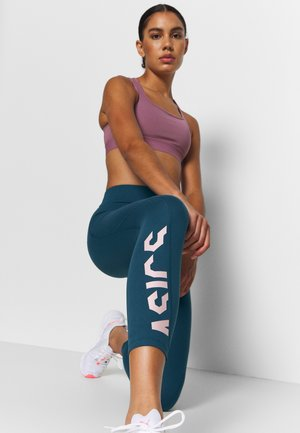 Leggings - magnetic blue/ginger peach