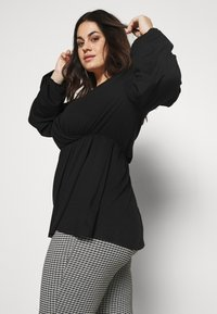 CAPSULE by Simply Be - SUPER SOFT  - Tygbyxor - black - 3