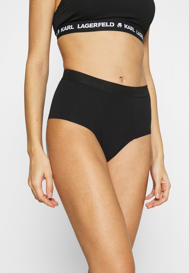 HIGH RISE CULOTTE - Slip - black