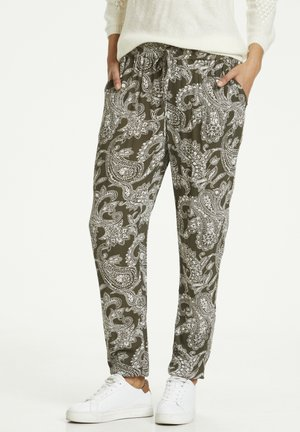 ROKA AMBER PANTS - Stoffhose - grape leaf new paisley