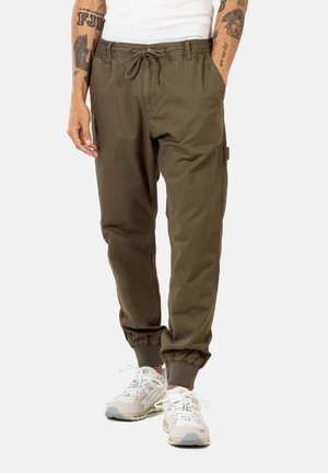 REFLEX RIB WORKER LC - Cargo trousers -  clay olive