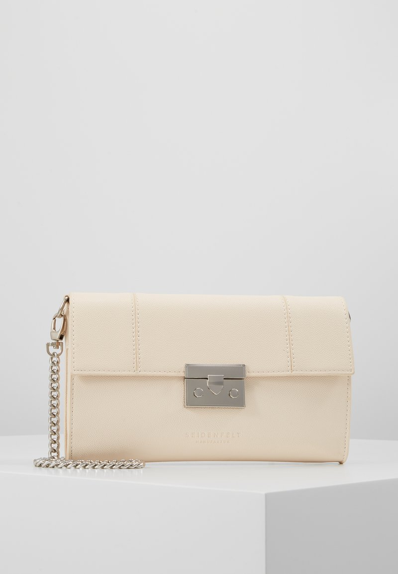 Seidenfelt - ROROS - Pikkulaukku - beige/silver-coloured