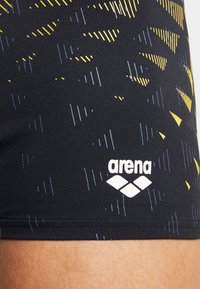 Arena - ONE TUNNEL VISION - Swimming trunks - black/yellow - 3