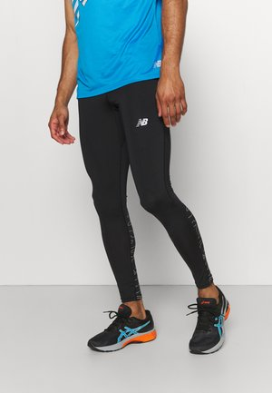 PRINTED ACCELERATE - Tights - black