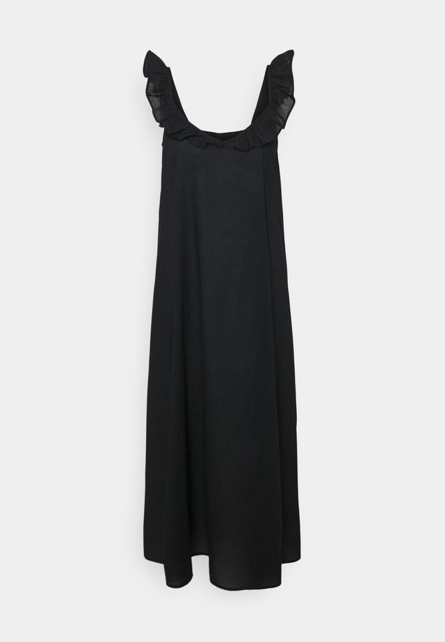 ONLALLIE LIFE STRAP ABOVE CALF DRES - Robe d'été - black