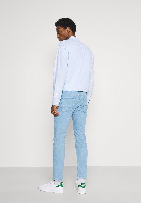 Tommy Hilfiger SLIM - Jeansy Slim Fit - montana blue/jasnoniebieski Odzież Męska PERW