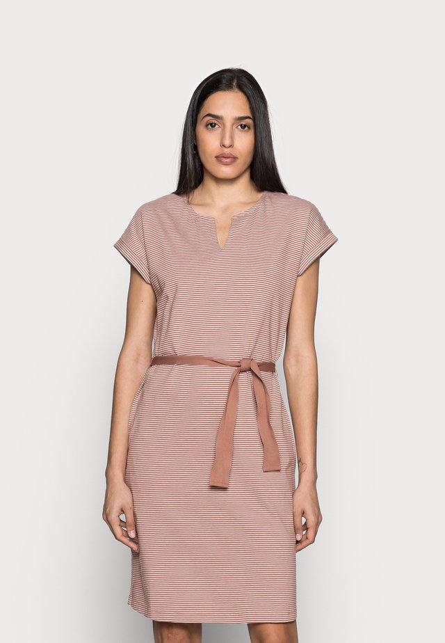 EASY DRESS - Sukienka letnia - stripe tuscany