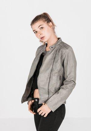 LOTTE - Leather jacket - grau