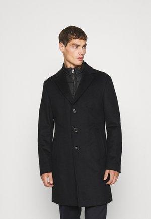 MORRIS - Classic coat - black
