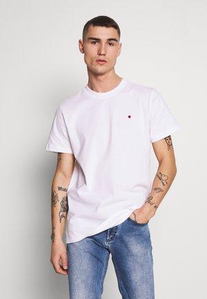 JJ-RDD CREW NECK - Basic T-shirt - white