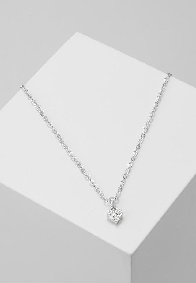 NANO HEART CHOKER - Kaulakoru - silver-coloured