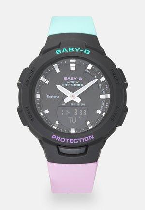 Smartwatch - lila/grün