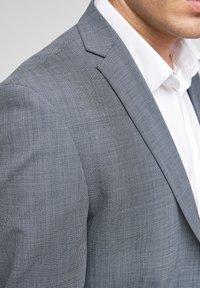 s.Oliver BLACK LABEL - Veste de costume - dark blue check - 4