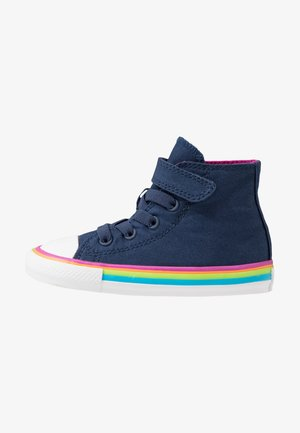 CHUCK TAYLOR ALL STAR - High-top trainers - navy/cactus flower/white