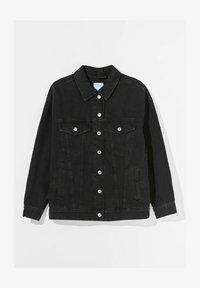 OVERSIZE - Denim jacket - black