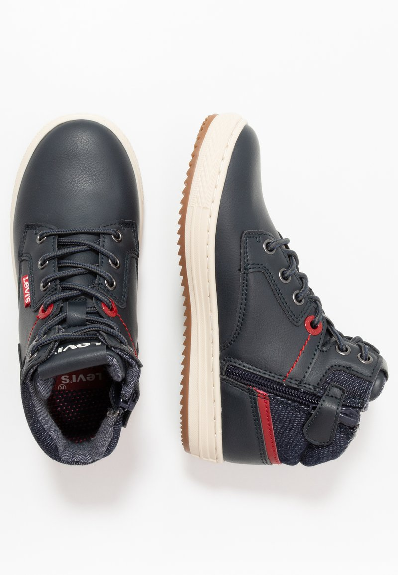 Levi's® - NEW FAINO MID - High-top trainers - navy