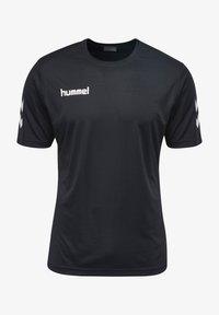 Hummel - CORE - Print T-shirt - black - 0