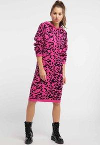 myMo - Jumper dress - pink - 1