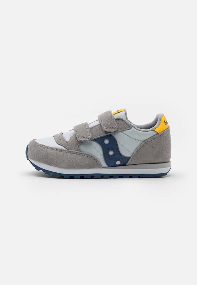 JAZZ DOUBLE UNISEX - Sneakers basse - grey/blue/yellow