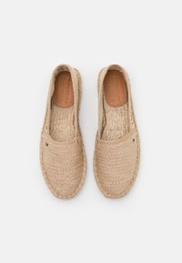 Tommy Jeans - RAINBOW BRANDING - Espadrilky - natural - 5