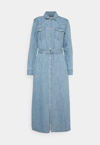 Polo Ralph Lauren - LONG SLEEVE DAY DRESS - Denim dress - leaton wash - 5