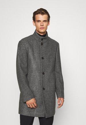 MARON - Klasyczny płaszcz - mediumgrey