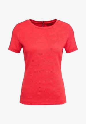 DINORE - Triko spotiskem - bright red