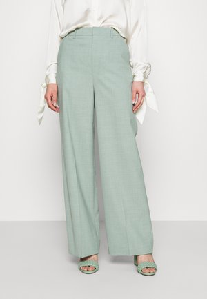 AMALIGZ WIDE PANTS - Trousers - slate gray