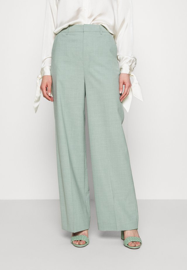 AMALIGZ WIDE PANTS - Tygbyxor - slate gray