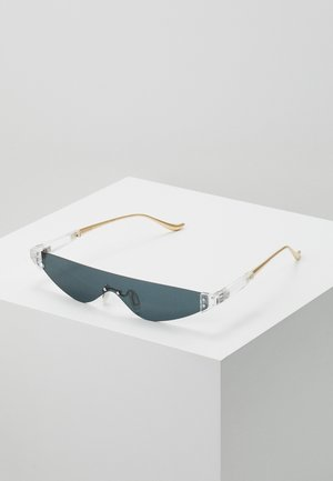 SUNGLASSES VALENCIA - Lunettes de soleil - transparent/gold-coloured
