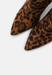 BEBO - TRINNIE - High heeled ankle boots - brown - 5
