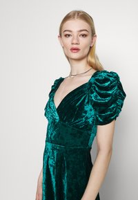 Topshop - IDOL TEADRESS - Cocktail dress / Party dress - dark green - 3