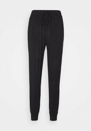 MENS LONG PANTS - Tracksuit bottoms - black