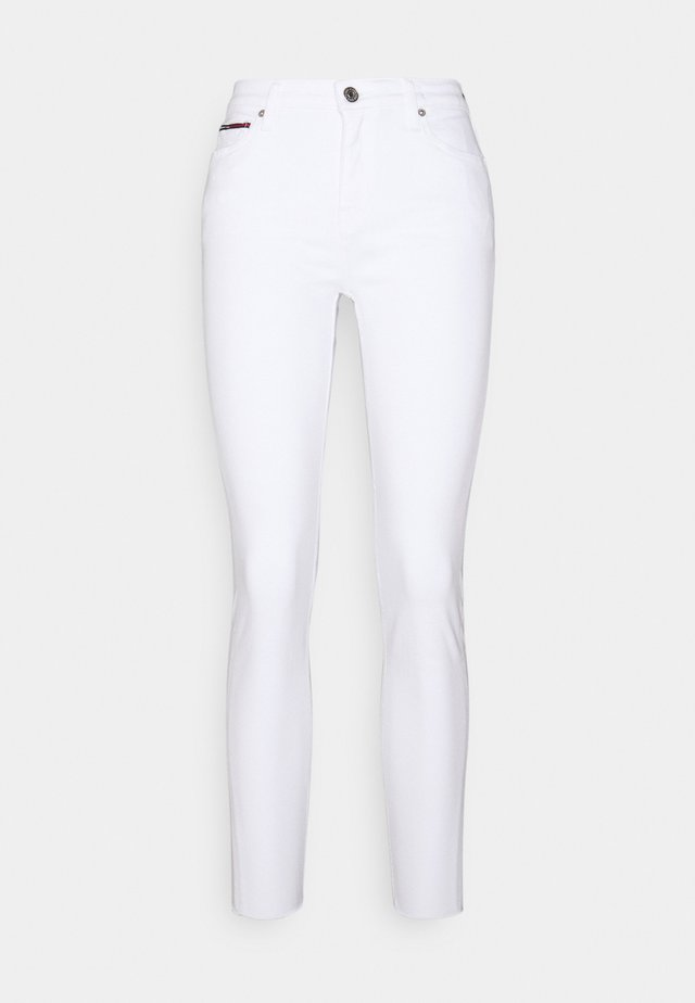 SYLVIA ANKLE - Jeans Skinny - white denim