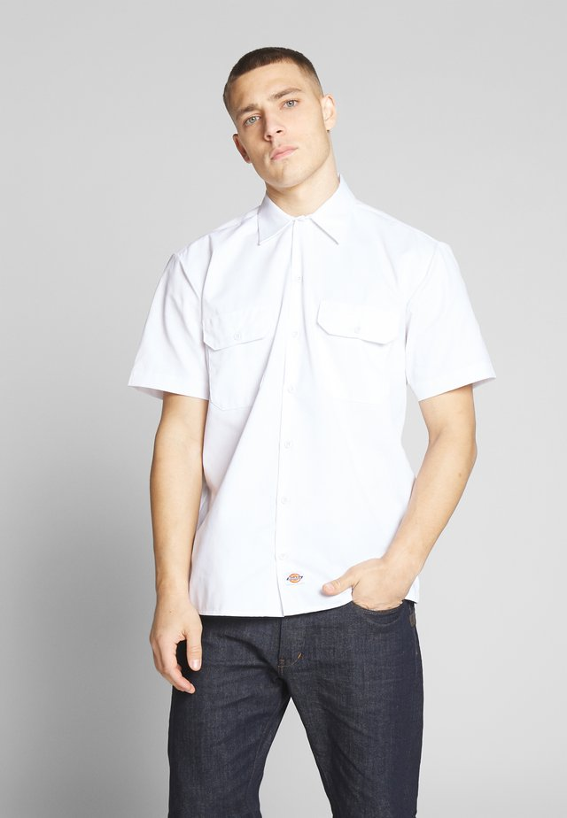 SHORT SLEEVE WORK - Košile - white