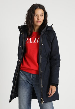 FRIDA TRIM JACKET - Manteau court - navy noir