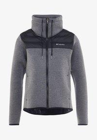 Columbia - HYBRID  - Fleece jacket - black - 5