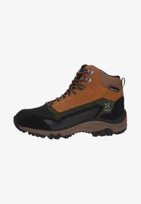Haglöfs - SKUTA MID PROOF ECO - Hiking shoes - olive/brown - 0
