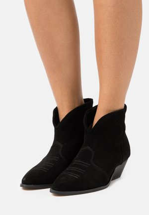 DANCING IN THE MOONLIGHT - Cowboy/biker ankle boot - black