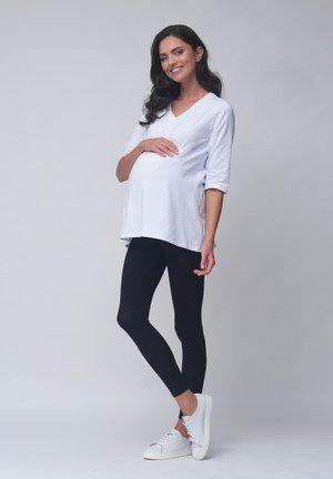 Maternity BASIC - T-shirt basic - white