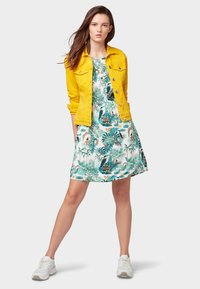 TOM TAILOR DENIM - Day dress - off white tropical - 1