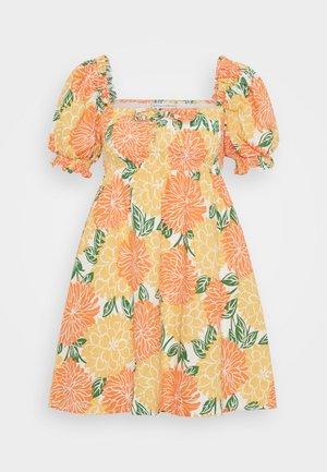 MIGUELINA MINI DRESS - Vapaa-ajan mekko - mariposa
