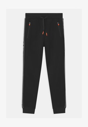 STREET PANEL - Tracksuit bottoms - black