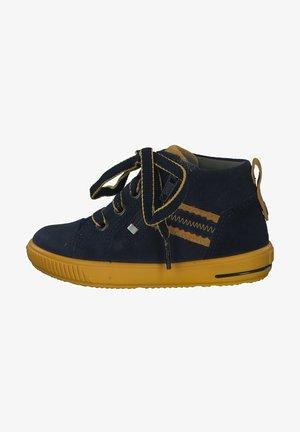 Baby shoes - blau gelb