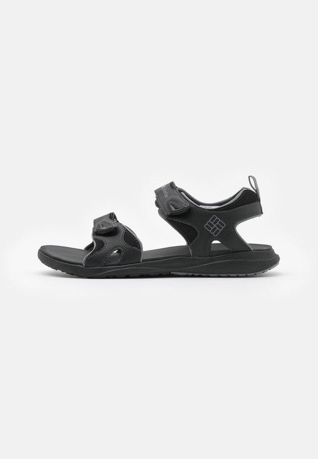 COLUMBIA 2 STRAP - Chodecké sandály - black/ti grey steel