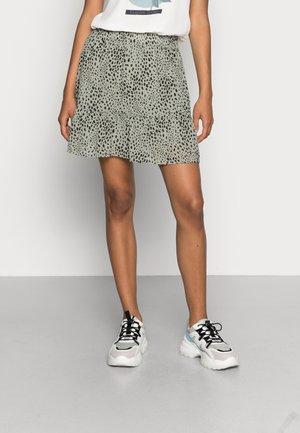 ONLSTAR SHORT SKIRT - A-line skirt - seagrass